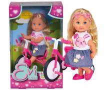 Lėlė Evi su dviračiu | Evi Love | Simba 5733347