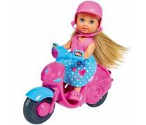 Lėlė Evi su motoroleriu | Evi Love | Simba 5733345