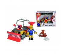 Ugniagesių gelbėtojų automobilis - sniego valytuvas | Simba 9251049