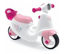 Balansinis motociklas su kėdute lėlei | Corolle Ride On | Smoby 721004