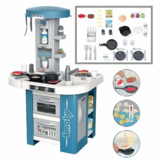 Didelė virtuvėlė su elektroniniais garsais ir priedais 35 vnt. | Tech Edition | Smoby 311049
