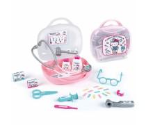 Vaikiškas gydytojo lagaminas su priedais 13 vnt | Hello Kitty | Smoby 340102
