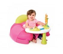 Interaktyvus rožinis fotelis su staliuku | Cotoons | Smoby 110209_ROZ / 110201_R