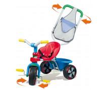 Vaikiškas mėlynas triratukas | Baby Balade | Smoby 444500