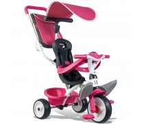 Vaikiškas rožinis triratukas | Baby Balade | Smoby 741101