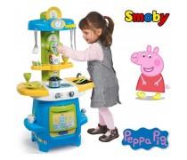 Vaikiška virtuvėlė su 22 priedais | Peppa Pig | Smoby 310703