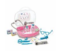 Vaikiškas gydytojo lagaminas su priedais 13 vnt | Peppa Pig | Smoby 340101