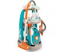 Vaikiškas namų tvarkymo rinkinys su dulkių siurbliu | Clean service | Smoby 330309