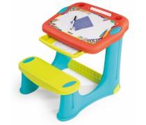 Vaikiškas stalas su piešimo lenta | Smoby 420221