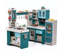 Didelė medinė virtuvėlė su priedais 15 vnt | Grand Walk-In | Step2 7948KR
