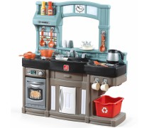 Interaktyvi virtuvėlė su priedais 25 vnt | Best Chef's Kitchen | Step2 8548