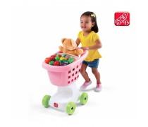 Pirkinių vežimėlis | Rožinis | Step2 7085
