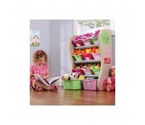 Spalvinga vaikiška lentyna žaislams | Step2 8274