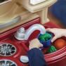 Vaikiška virtuvėlė su priedais 21 vnt. | Step2 8102