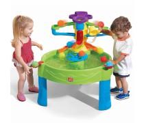 Vandens stalas su kamuoliukais 10 vnt. | Busy Ball Play Table | Step2 8400