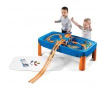 Žaidimų stalas Hot Wheels su lenktynių trasa | Step2 869600