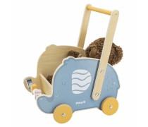 Medinis stumdukas -vežimėlis Drambliukas | PolarB | Viga 44031
