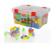 Kaladėlių rinkinys dėžėje 193 vnt | Wader 50571