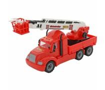 Didelė raudona gaisrinė mašina 62 cm | Globetrotter | Wader 55620