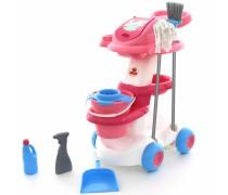 Namų tvarkymo rinkinys vežimėlyje | Polesie | Wader 58881