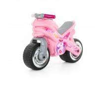 Balansinis rožinis motociklas | MX | Wader 80608