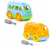 Konstruktorius 15 detalių | Autobusas su atsuktuvu | Wader 78995