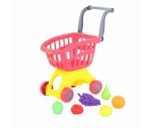Pirkinių vežimėlis su priedais | Rožinis | Wader 71378