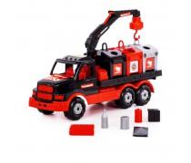 Sunkvežimis - vilkikas 29 cm su konteineriais | Mammoet | Wader 68507