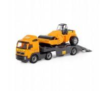 Volvo vilkikas 90 cm su asfalto lyginimo mašina | Wader 36902