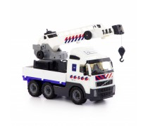 Žaislinis sunkvežimis kranas 49 cm | Wader 77318
