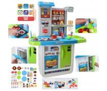 Didelė interaktyvi virtuvė su tekančiu vandeniu ir priedais | Woopie 28767