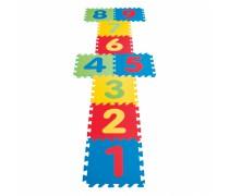 Edukacinis putų kilimėlis su skaičiais 9 vnt. | Woopie 28323