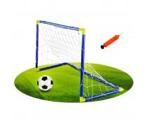 Futbolo vartai su kamuoliu ir pompa | Woopie 1710-1