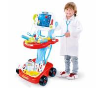 Gydytojo elektroninis vežimėlis su priedais 17 vnt | Woopie 28743