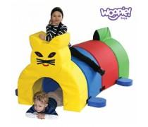 Minkštų kaladėlių tunelis | Katinas | Woopie KKR035