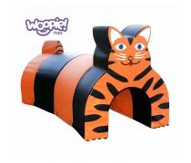 Minkštų kaladėlių tunelis | Tigras | Woopie KKR039