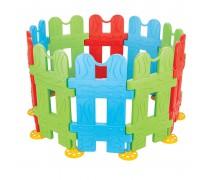 Spalvinga žaidimų tvorelė vaikams | Woopie 28538