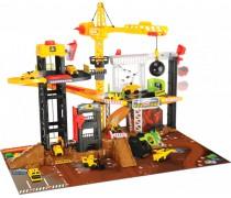 Didelė statybų aikštelė su 79 cm kranu ir 4 mašinėlėmis | Dickie 3729010