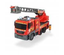 Didelė gaisrinė mašina 54 cm su šviesos ir garso efektais | MAN | Dickie 3719017
