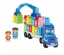 Abrick sunkvežimis su kranu ir kaladėlėmis | Raidės | Ecoiffier 3352