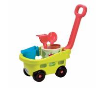 Karutis - vežimėlis su priedais | Ecoiffier 4344