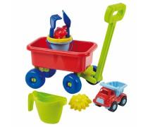 Karutis - vežimėlis su smėlio žaislai ir mašinėle | Ecoiffier 529