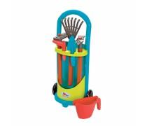 Sodininko vežimėlis su priedais | Ecoiffier 4339EC