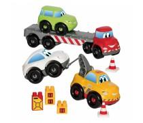 Statybinių mašinėlių rinkinys su kaladėlėmis | Abrick | Ecoiffier 3345