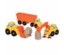 Statybinių mašinėlių rinkinys su kaladėlėmis | Abrick | Ecoiffier 3346