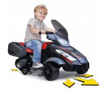 Akumuliatorinis triratis motociklas 12V - vaikams nuo 3 m. | MOTOSPIDER | Feber 12840