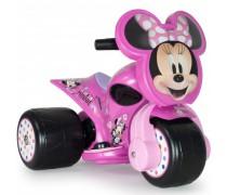 Akumuliatorinis triratis motociklas 6V vaikams nuo 1 metų | Pelytė Minnie | Injusa 12501
