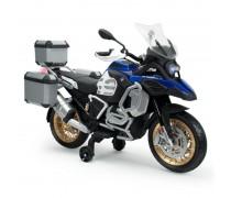Akumuliatorinis motociklas su lagaminais - vaikams nuo 3 iki 4 metų | BMW 1250 GS ADVENTURE 12V | Injusa 651