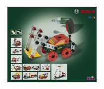 Vaikiškas konstruktorius su Ixolino atsuktuvu ir priedais 77 vnt | Bosch | Klein 8497