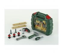 Meistro rinkinys su įrankiais ir Ixolino atsuktuvu lagamine | Bosch | Klein 8384